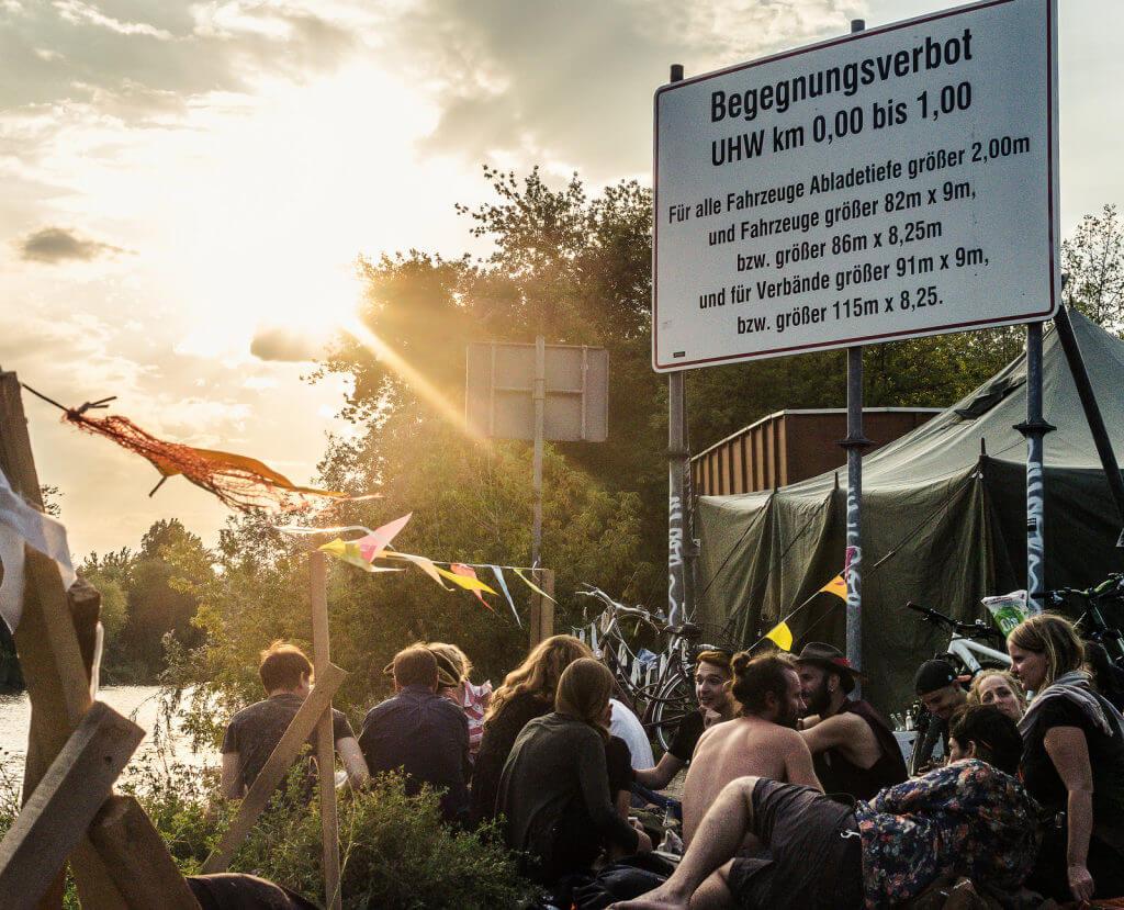 From an Open air party in Berlin. Photo: Jason Krüger
