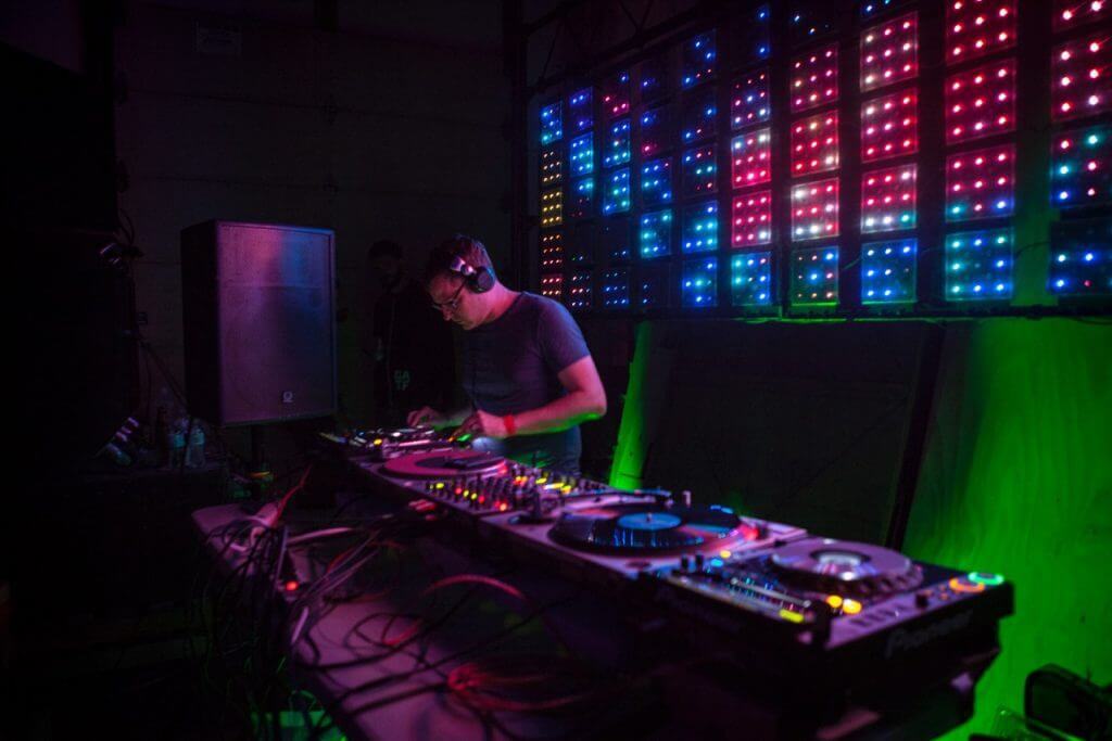Bryan Kasenic at the 2014 Great American Techno Festival in Denver, Colorado. Photo by Seze Devres