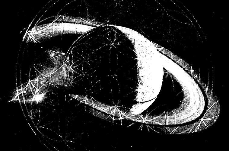 Kill Ref's techno mix CD Saturn Phases cover